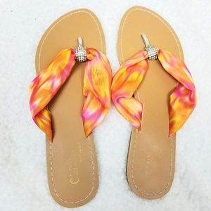 Ribbon Top Flip Flop